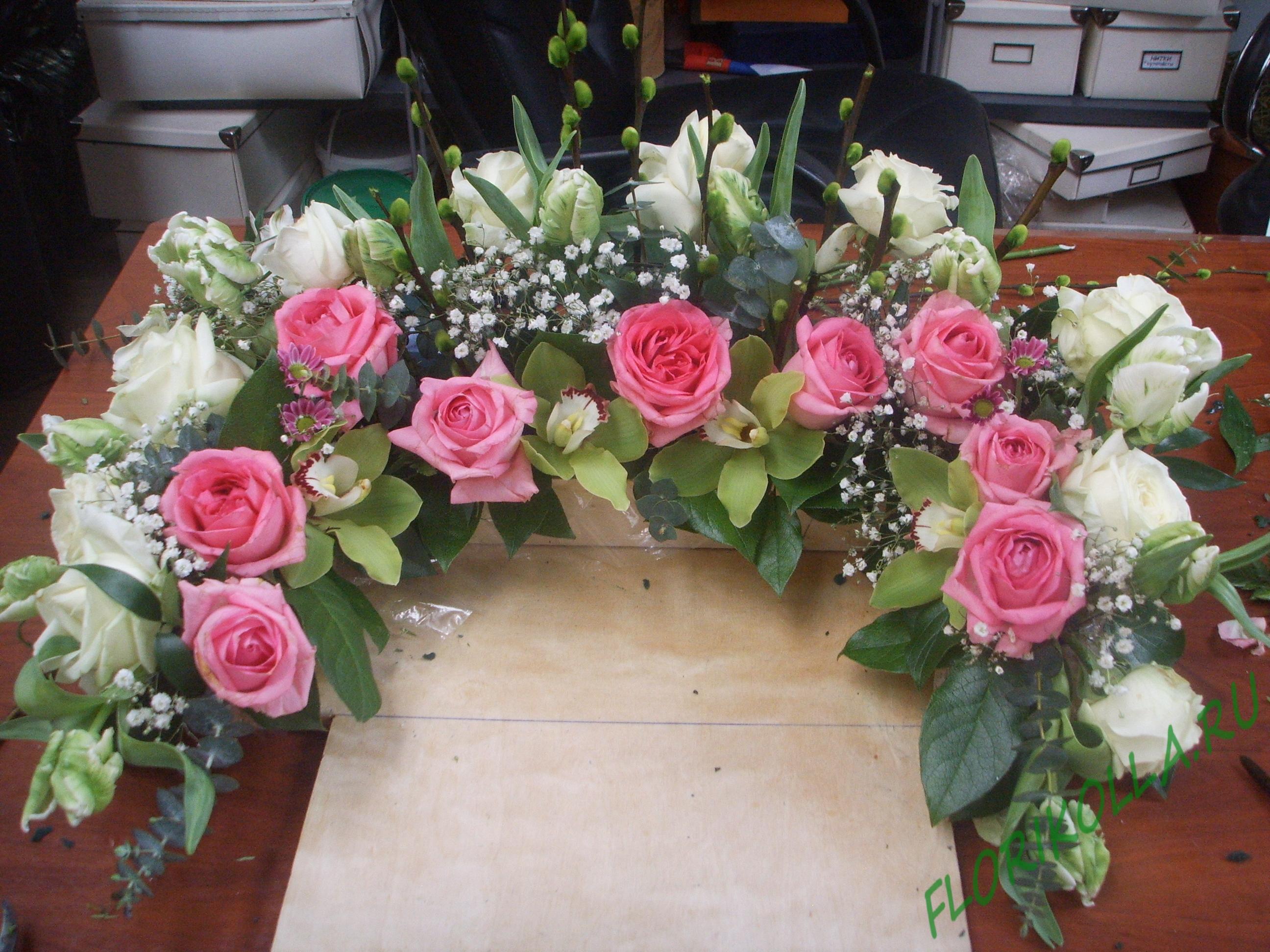 Оформление живыми цветами   florikolla ab533f00ec1
